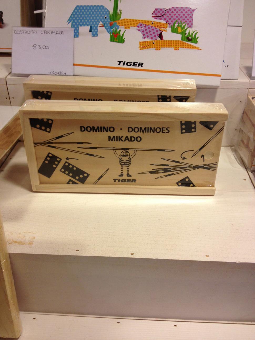 mikado shangai e domino giochi da tavola da tiger viale marconi roma