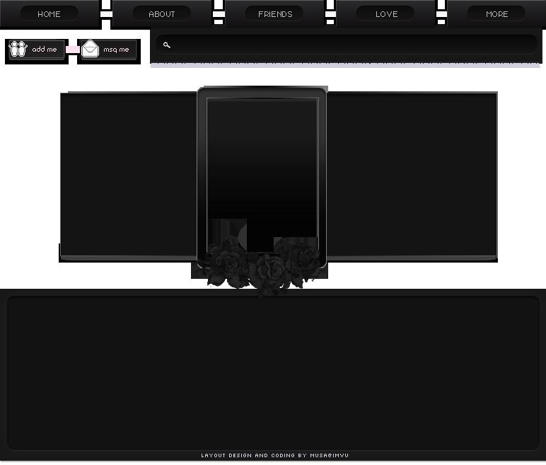 Homepage Layout Design Imvu - Homemade Ftempo