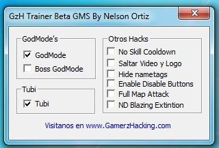 [GMS v183.3] GzH Trainer Beta By Nelson Ortiz GamerzHacking