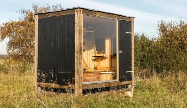 朕亨公益说「迷你小屋」风潮吹进北欧!融入自然景观的迷你环保小屋