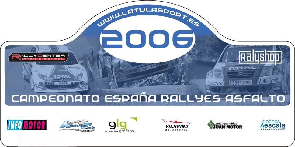 Cto. de España 2006 RBR La Tula Sport Placa2006