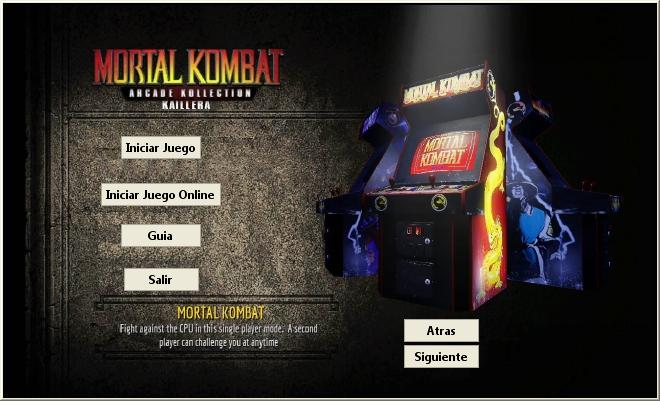 Mortal Kombat Arcade Kollection Kaillera - Página 2 MENU