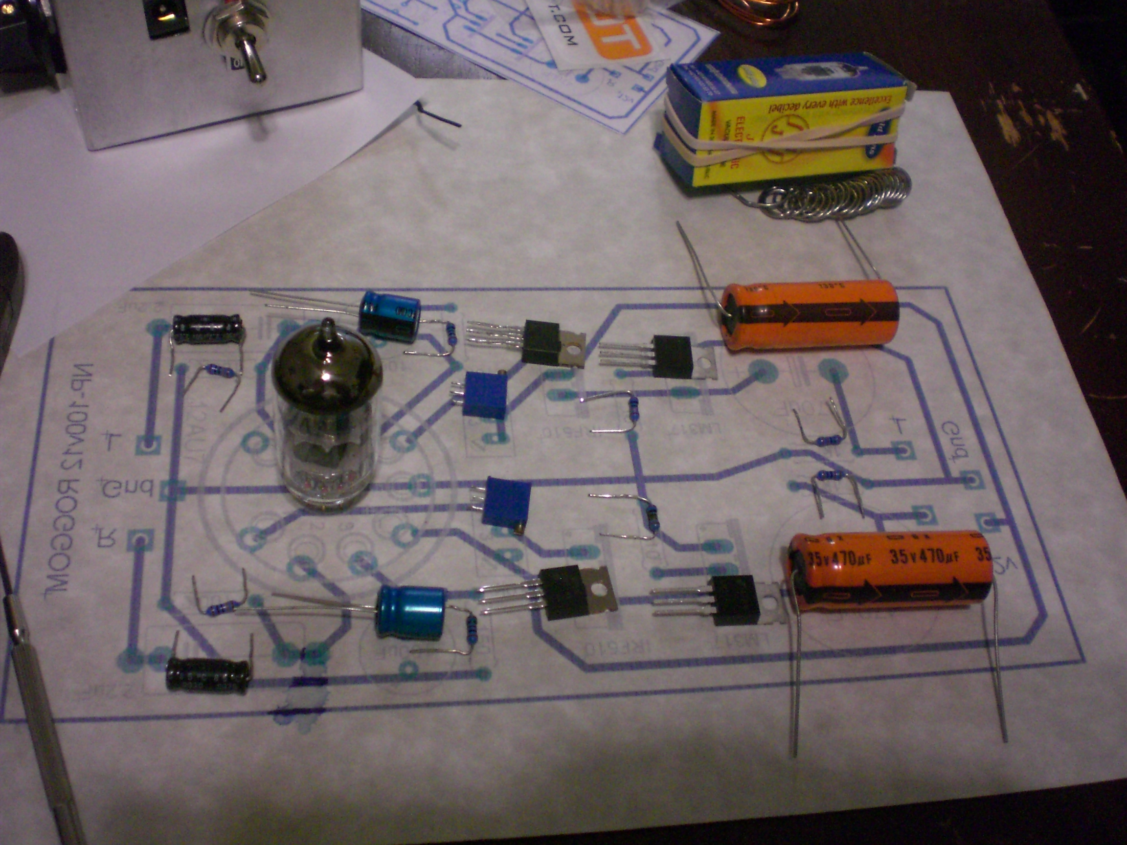 DIY Audio Projects Forum • NP-100v12 - 12AU7 / IRF510 ... on