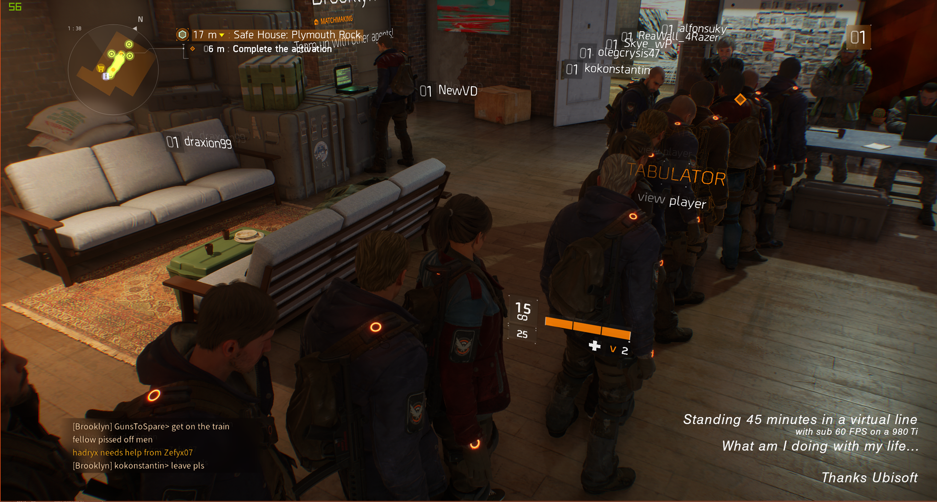 How to quit matchmaking the division