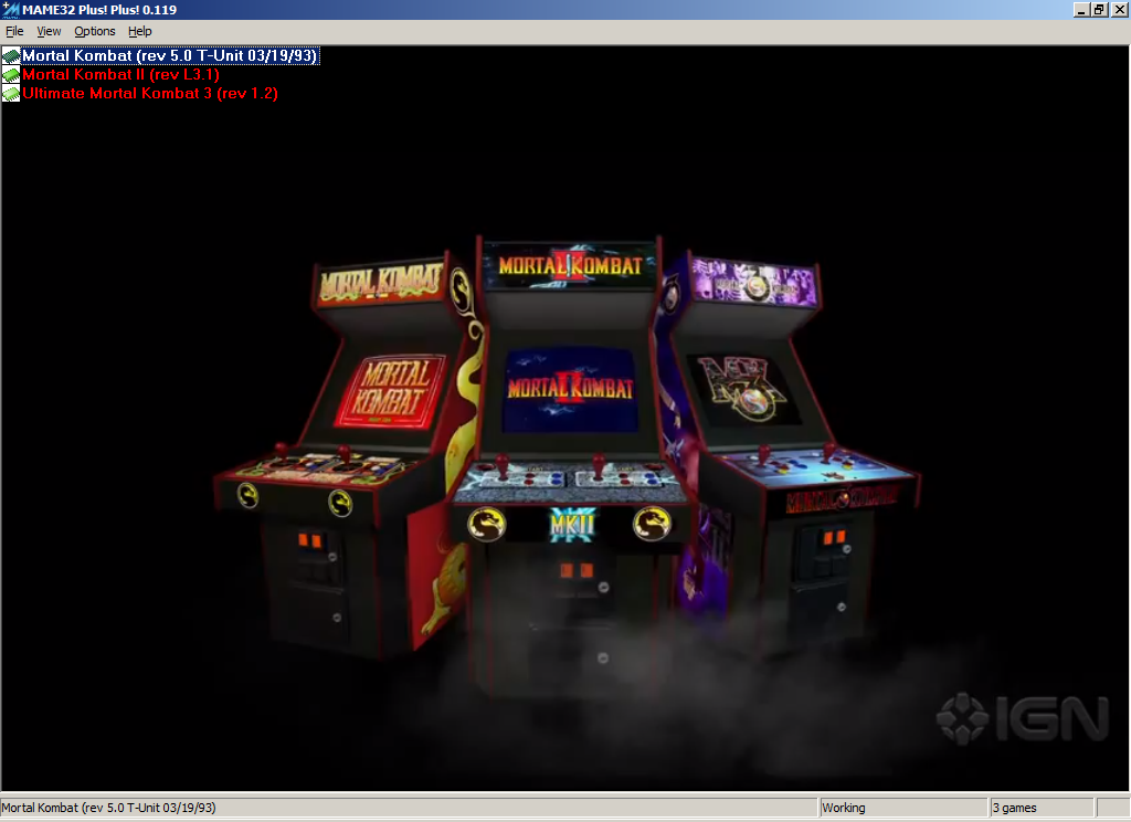 Ultimate Mortal Kombat 3 Hack Zeus Edition Mame Arcade Rom Pack