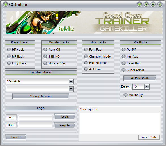 GCTrainer for Grand Chase NA (Updated March 22, 2012)