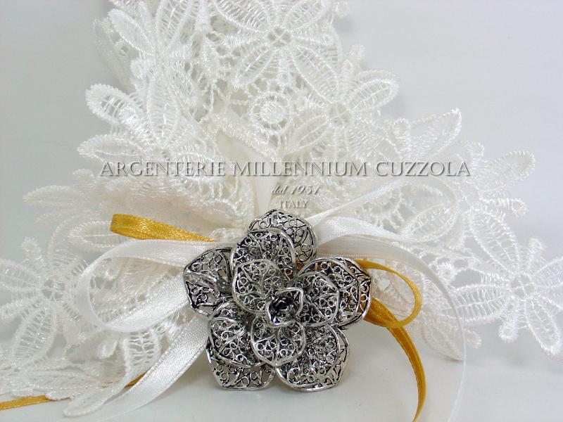 Bomboniere in argento matrimonio finest bomboniere in for Regali per venticinquesimo