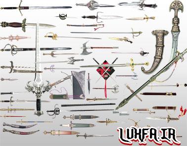 طرح آماده شمشیر