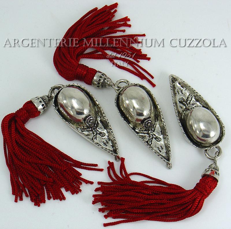 Feluca laurea cappello bomboniere argento cappellino for Laurea in design