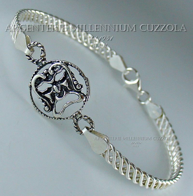 Porta Fortuna In Inglese.Bracciali Argento Medusa Maschere Portafortuna Magna Grecia Silver