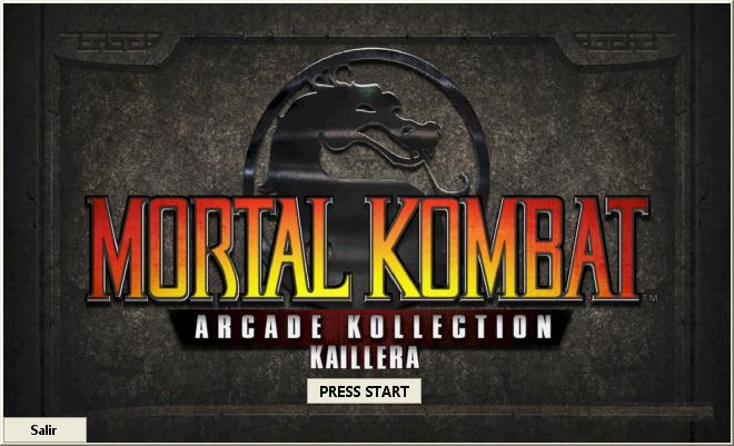 Mortal Kombat Arcade Kollection Kaillera - Página 2 INICIO