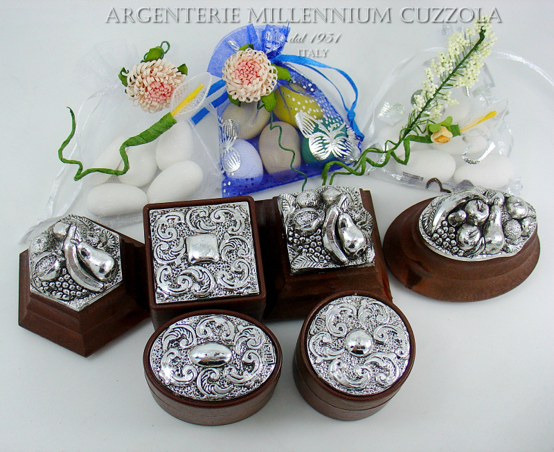 Ebay Segnaposto Matrimonio.Slipcase Bomboniere Box Silver Door Joys Wedding Placeholder Ebay