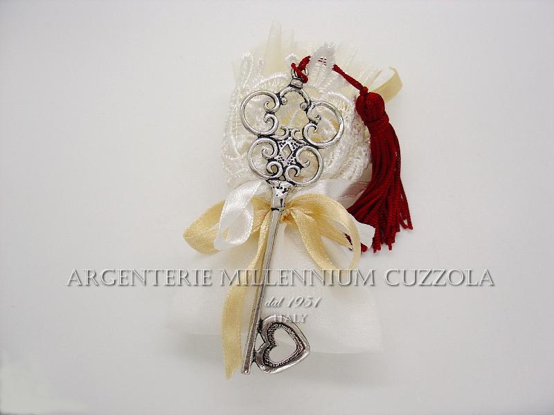 Bomboniere Matrimonio Ebay.Silver Key Favours Wedding Graduation Communion Confirmation