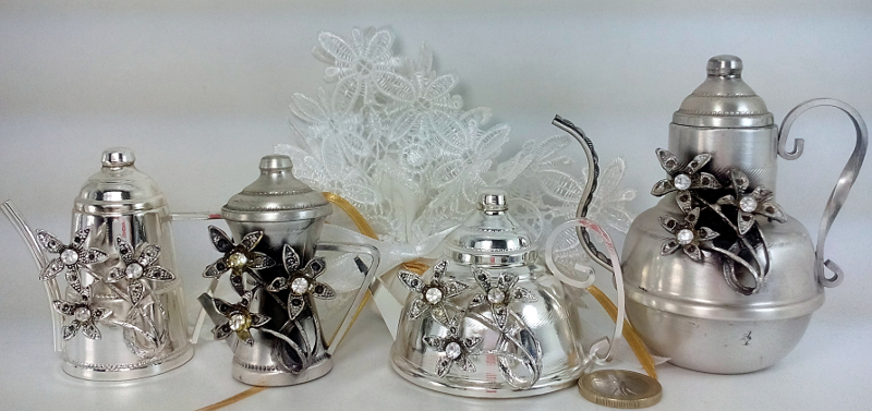 Bomboniere Argento Matrimonio Prezzi.Offers Stock Favours Lattierine Creamer Wedding Confirmation