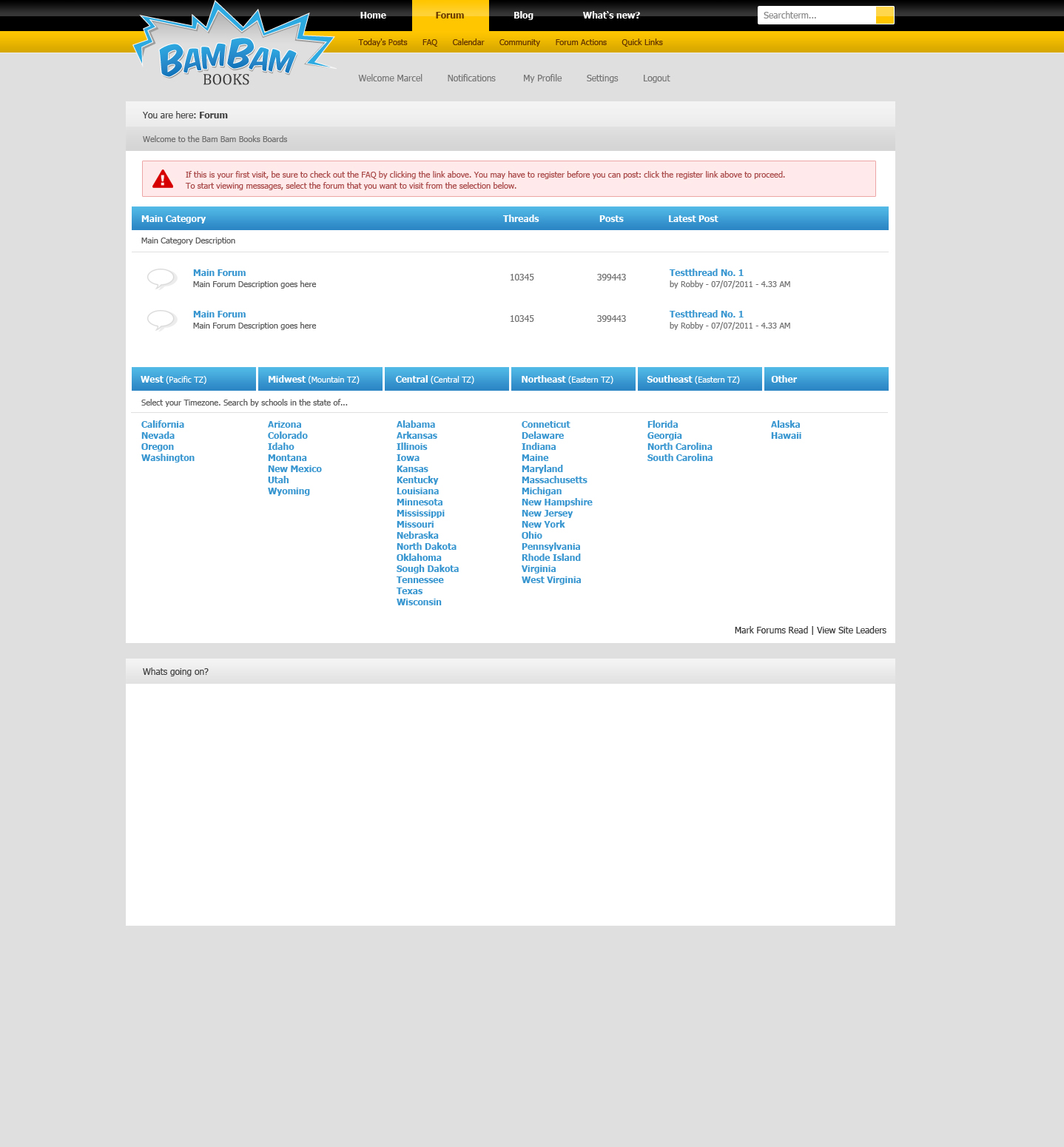 Need PSD coded to vBulletin 4 x | Web Hosting Talk