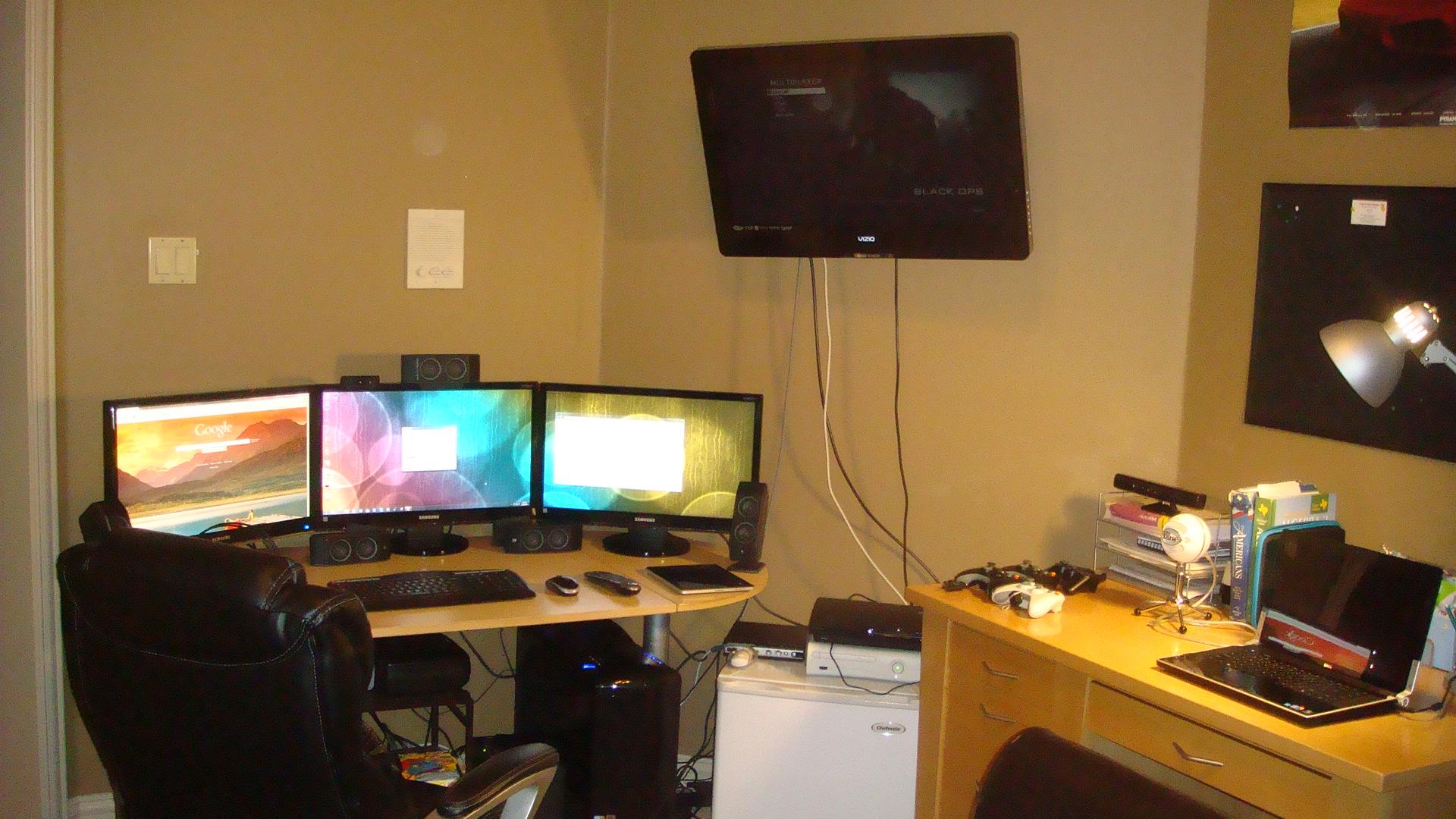xbox 360 gaming setup ideas the image
