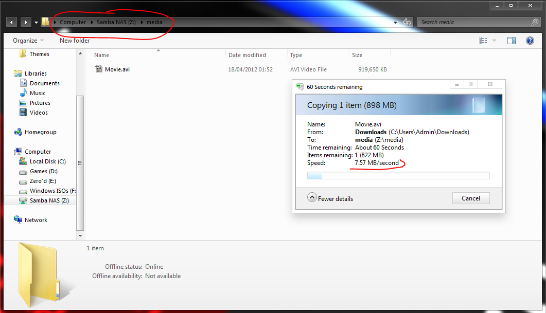 DD-WRT Forum :: View topic - WRT160NL - Slow copying to Samba shared NAS