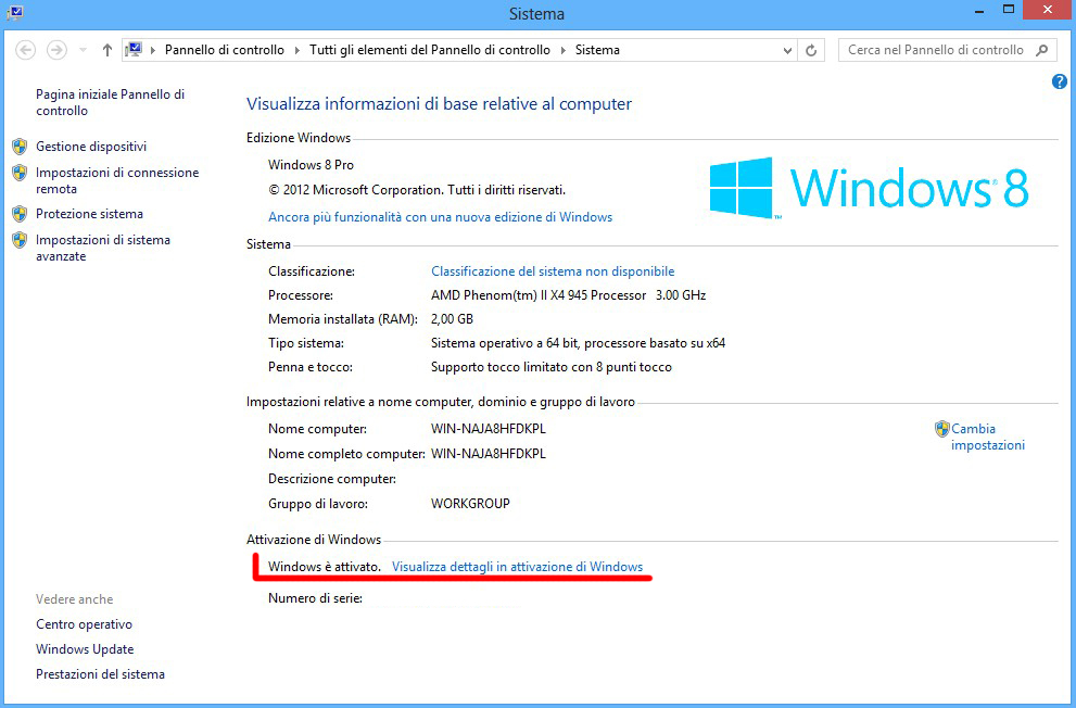 cannot activate windows 8 pro build 9200
