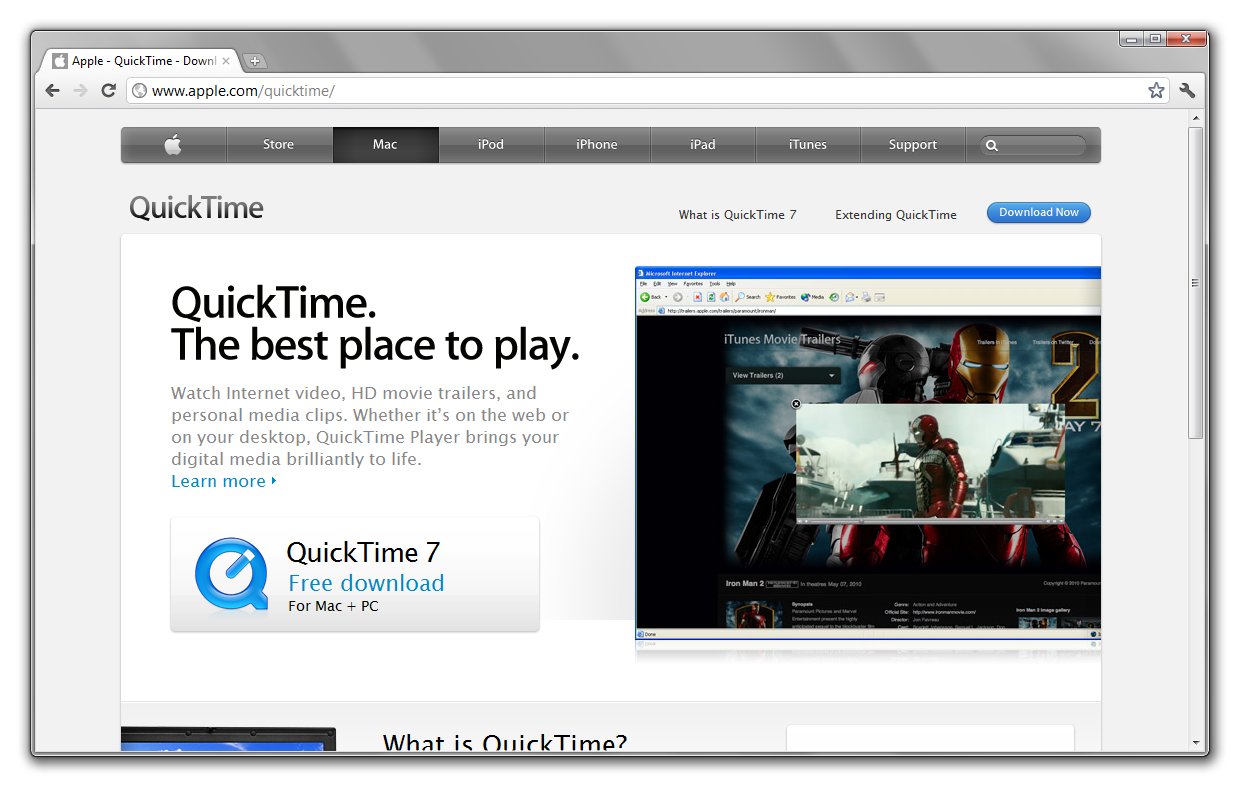 QuickTime 7 7 for Windows - Back Page News - Neowin